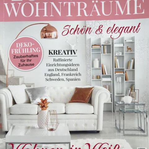 """Mobile Tiny House in German magazine """"Zeitschrift für Wohnträume"""""""