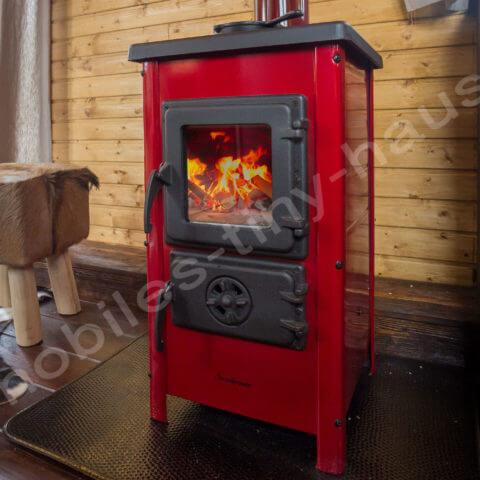 Kamin oder Ofen nach Wunsch Holzhaus Schweden