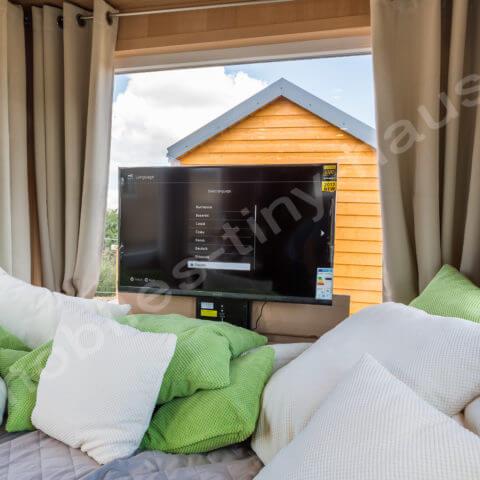 Wohnbereich Holzhaus Finnland