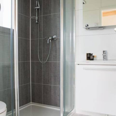 Badezimmer Holzhaus