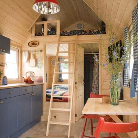 Essbereich Holzhaus Australien