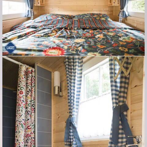 Schlafbereich Holzhaus Australien