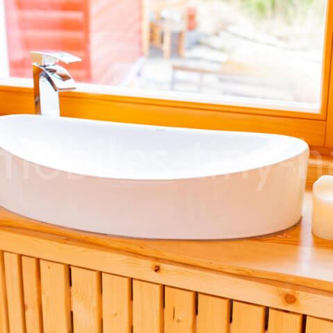 sauna basin