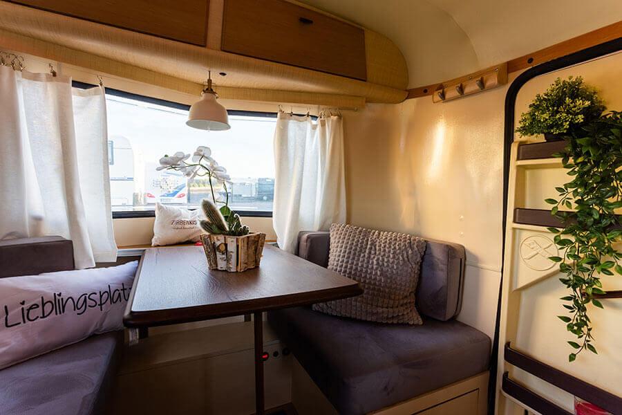 conversion of historical caravans mobile tiny house. Black Bedroom Furniture Sets. Home Design Ideas