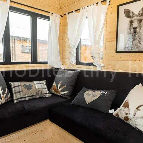 Sitzecke Holzhaus Australien