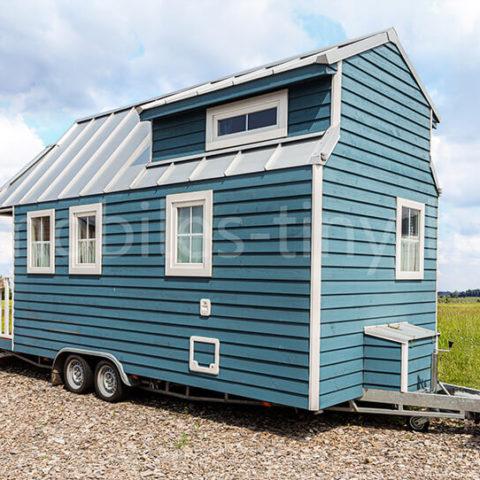 Tiny House Island Aussenansicht