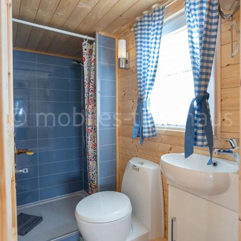 Tiny House Island Badezimmer
