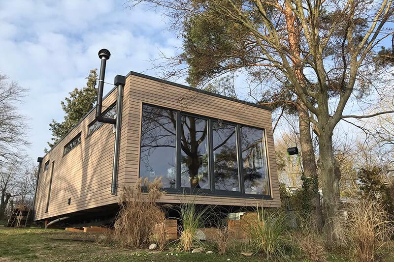 Mobiles Chalet Norwegen - Mobiles Tiny Haus