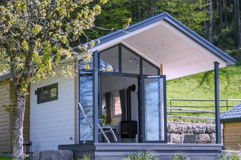 Mobiles Chalet Dänemark - Mobiles-Tiny-Haus