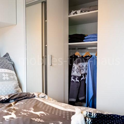 Mobiles Chalet Island - Schlafzimmer