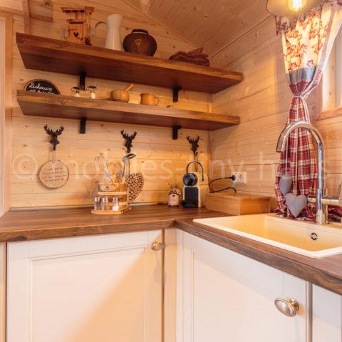 Holzhaus Küche