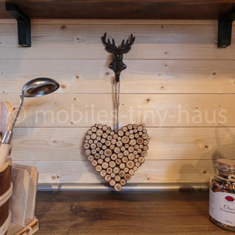 Holzhaus Details